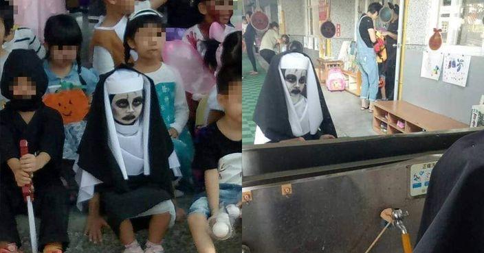 公主裝OUT 臺四歲女童萬聖節扮鬼修女同學都驚 | Plastic | 巴士的報