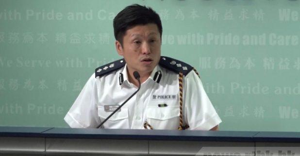 謝振中向兩名昨晚分別受傷及一度被帶警署記者致歉   HotTV   巴士的報