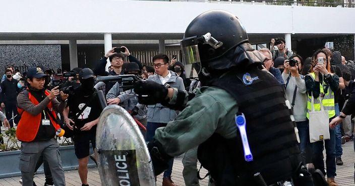 警發信向梁家榮投訴 澄清港臺報道與事實不符   政事   巴士的報