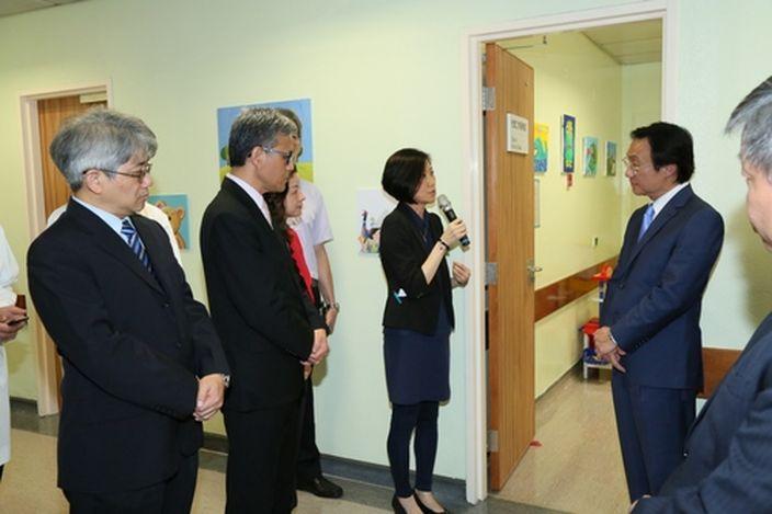 山頂醫院兒童綜合評估中心揭幕 | 澳門事