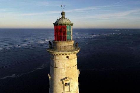 Le phare de Cordouan et ses secteurs rouge et vert