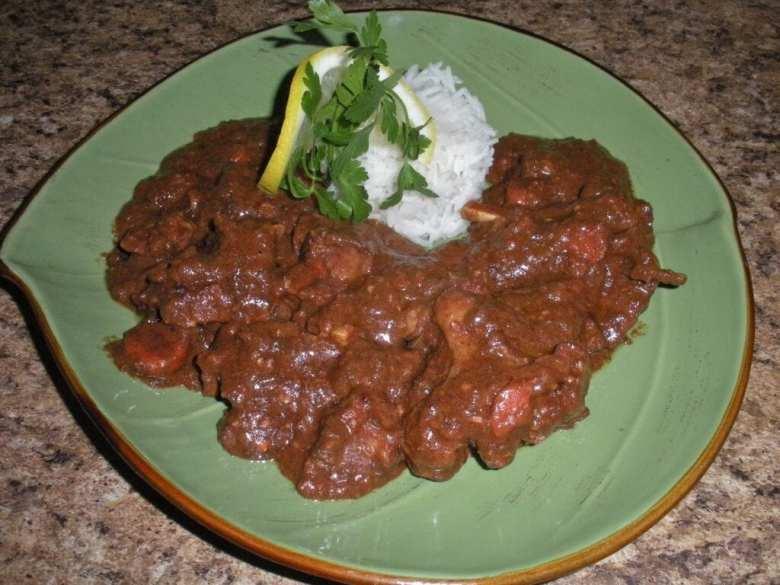 mat, matlagning, recept, gryta, grytor, getgryta, nigeriansk mat, afrikansk mat, getkött