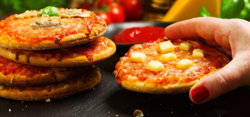 vego, vegopizza, recept, pizza, vegansk pizza, recept, mat, matglädje, inspiration, matinspiration, Polarbröd, snabbpizza, snabb pizza, minipizza, pizza i micron
