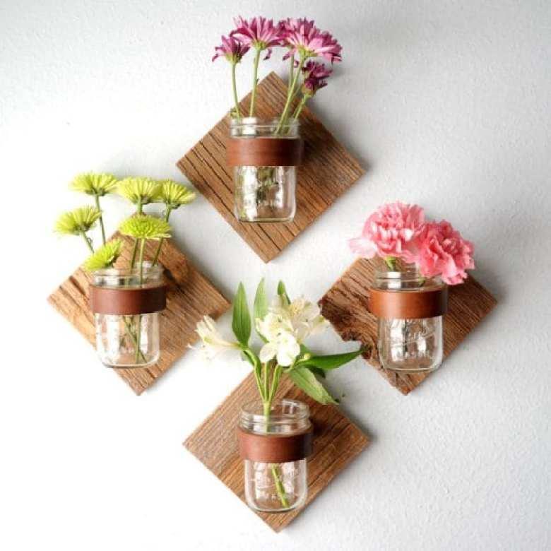 glasburk, glasburkar, mason jars, burk, förvaring, pyssel, pysseltips, pyssla, inredning, pysselidé, idé, idéer, skapa, tips, inspiration, vas, blomvas, blomstervas, blomma, blommor