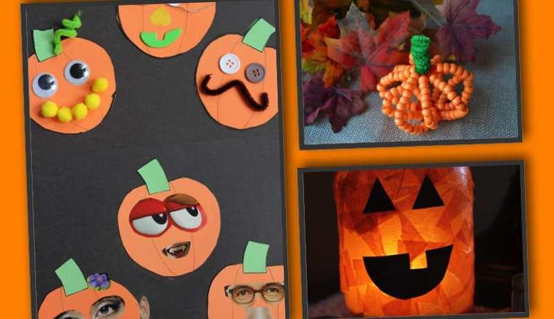 pyssel, pysseltips, pysselidé, barnpyssel, pyssel för barn, halloween, halloweenpyssel, skapa, pumpa, pumpor