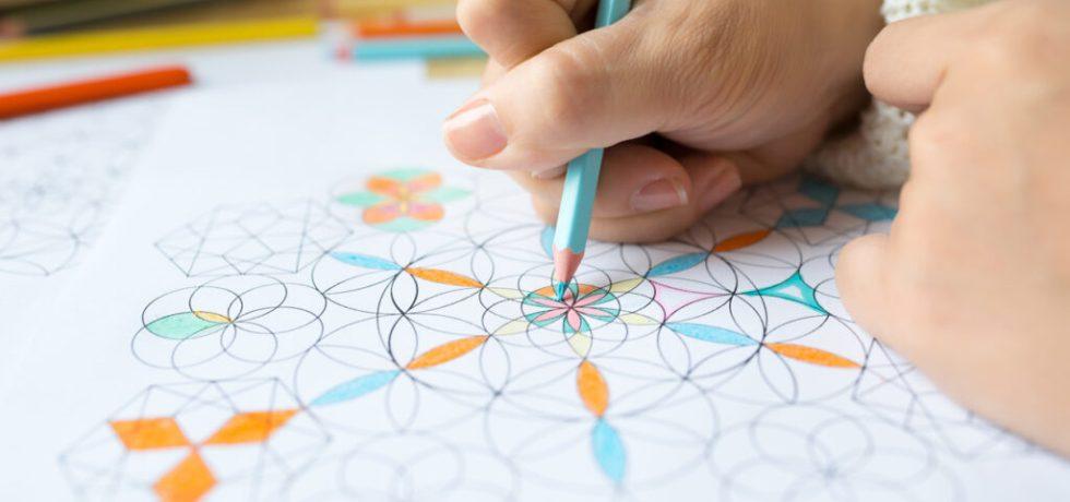 lära sig rita mandala