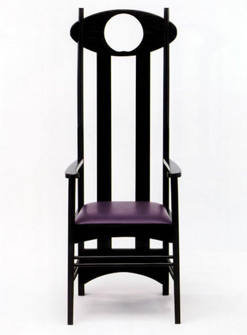 Sedia Argyle Charles Rennie Mackintosh  Bauhaus Italy