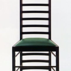 Charles Rennie Mackintosh Willow Chair Table And Rental 2 - Bauhaus Italy