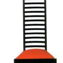 Gerrit Thomas Rietveld Chair Workout Ball Hill House Charles Rennie Mackintosh - Bauhaus Italy