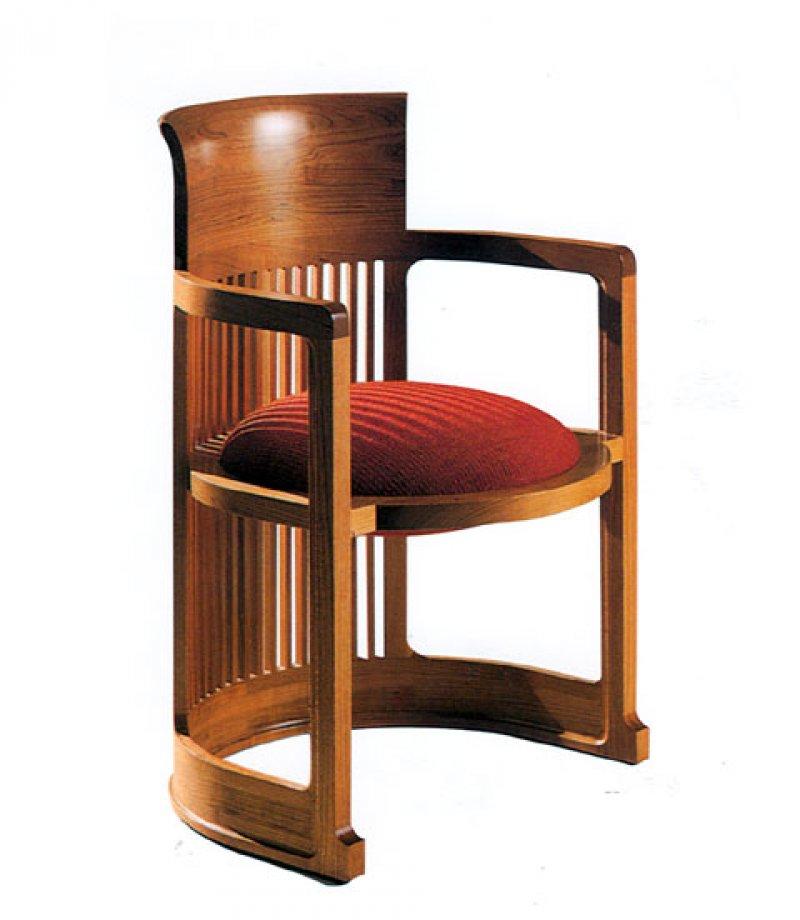 Frank Lloyd Wright Furniture: Barrel Chair