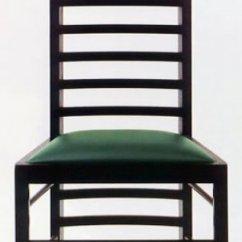 Charles Rennie Mackintosh Willow Chair Overview Design 2 Bauhaus Italy