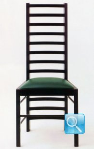 Mackintosh Willow 2 Chair  Bauhaus Italy