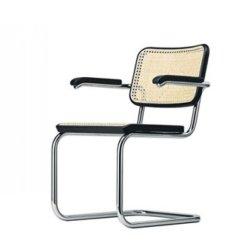 Marcel Breuer Cesca Chair With Armrests Ergonomic Stool Bauhaus Italy Dettaglio Sedia 2 67 0 Jpg 1 Img 0320