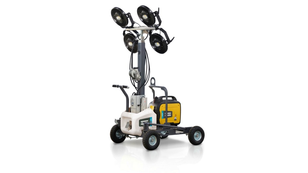 Three new Atlas Copco electric plug-and-light LED light