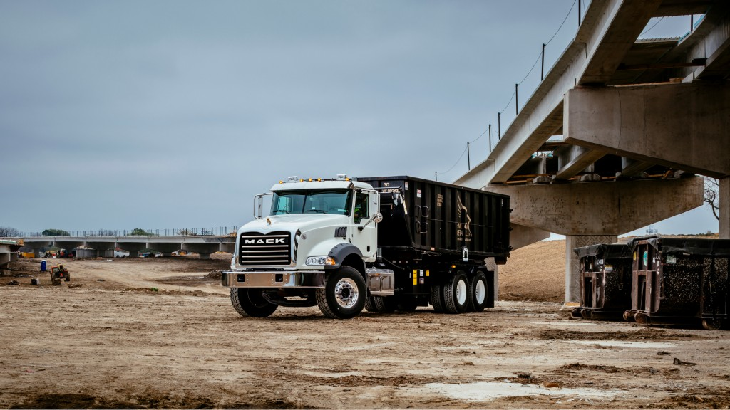 hight resolution of the mack granite here in a roll off configuration as well as lr