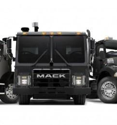 mack trucks mack lr battery electric vehicle demonstrator model will debut as part of mack s [ 1475 x 708 Pixel ]