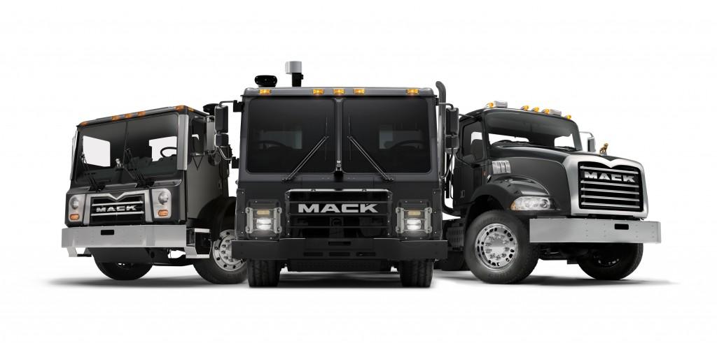 hight resolution of mack trucks mack lr battery electric vehicle demonstrator model will debut as part of mack s
