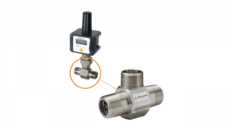 Turbine flow meter an easy drop-in replacement for many