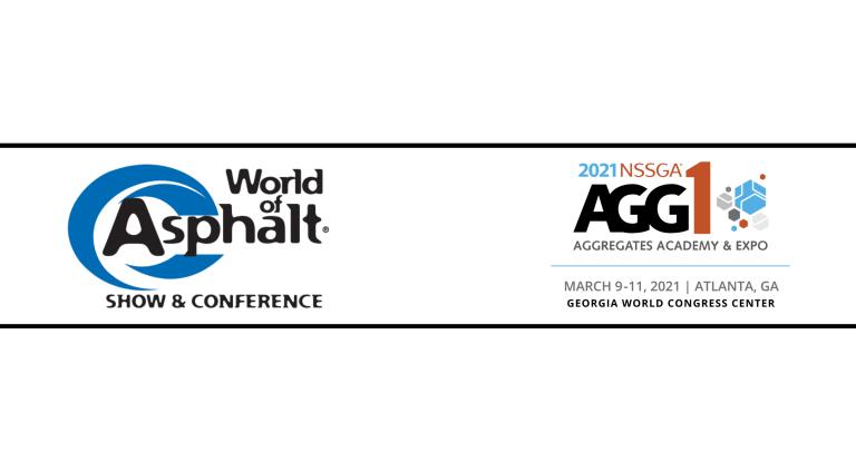 World of Asphalt, AGG1 Academy & Expo cancel 2021 shows