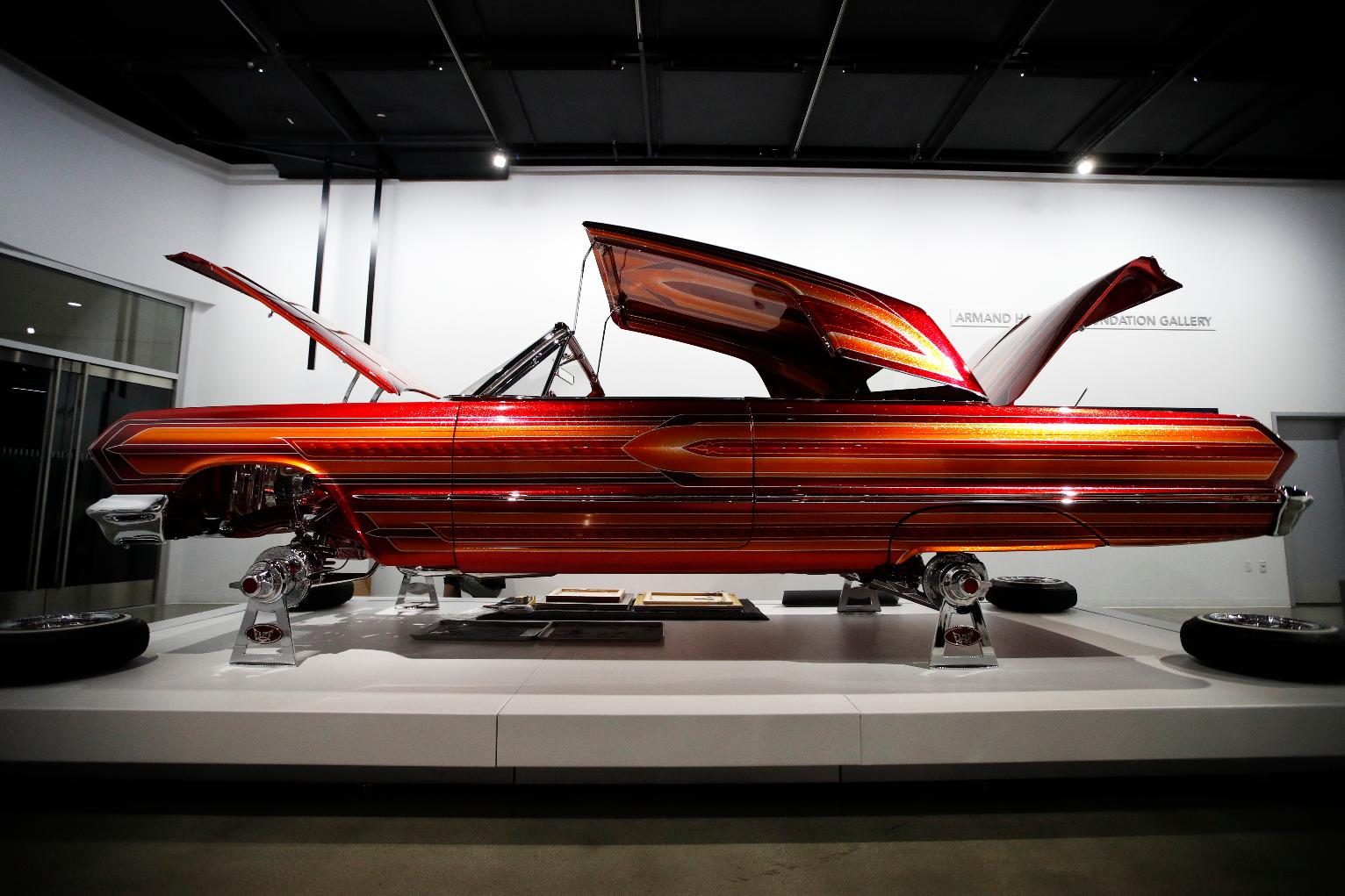 Museum Exhibits Lowrider Cars the Artwork Theyve