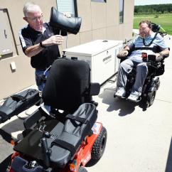 Quadriplegic Wheelchair Steelcase Criterion Chair New Gives Hunter Opportunities