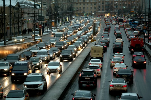 What traffic congestions look like in most major cities