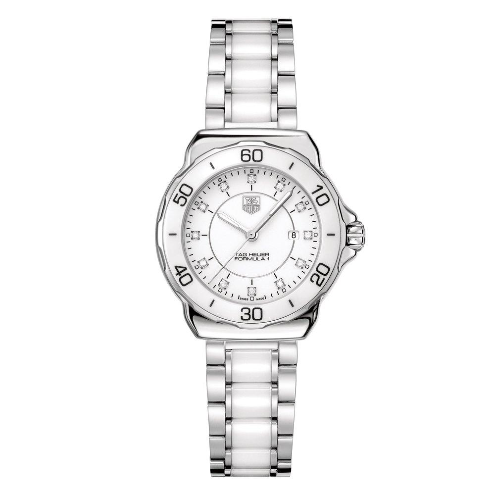 TAG Heuer Formula 1 Ceramic Ladies Diamond Watch WAH1315