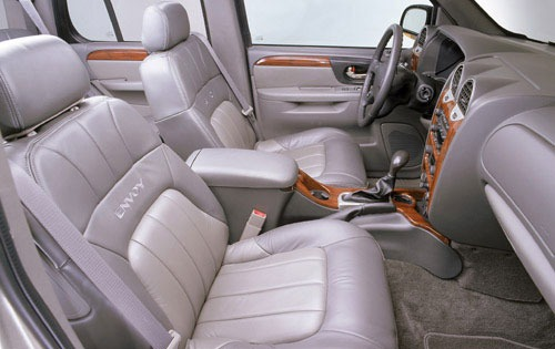 2002 Chevy Envoy Interior