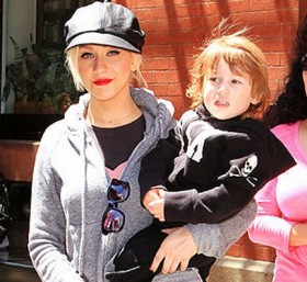 Mamme famose Christina Aguilera e i video hot