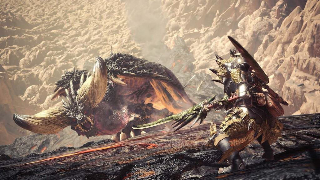 Legends Of The Fall Wallpaper Monster Hunter World La Version Pc Est Attendue Pour Le