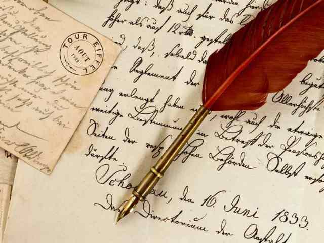 Image result for handwritten letters