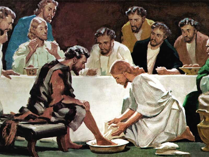 The Real Meaning Of Foot Washing For Christians Beliefnet