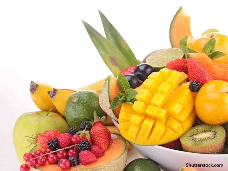 food tropical fruits