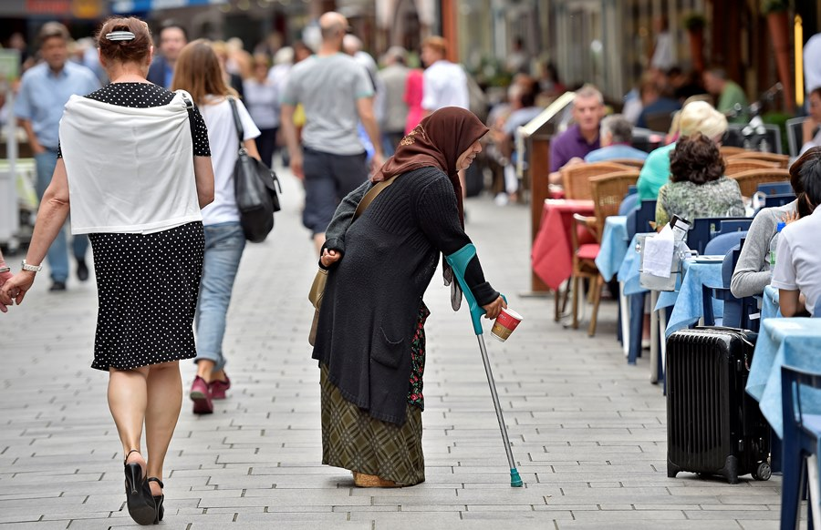 Poverty in old age is a reality in many first-world countries in addition to the U.S. (Photo: AP)