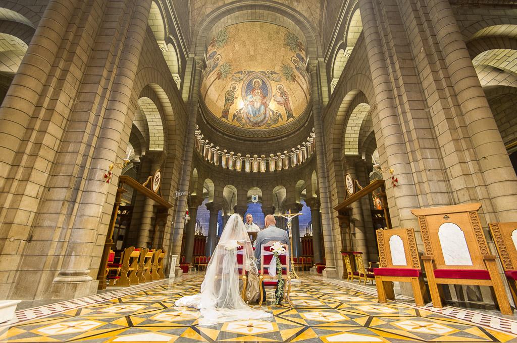 mariage à la cathédrale de Monaco