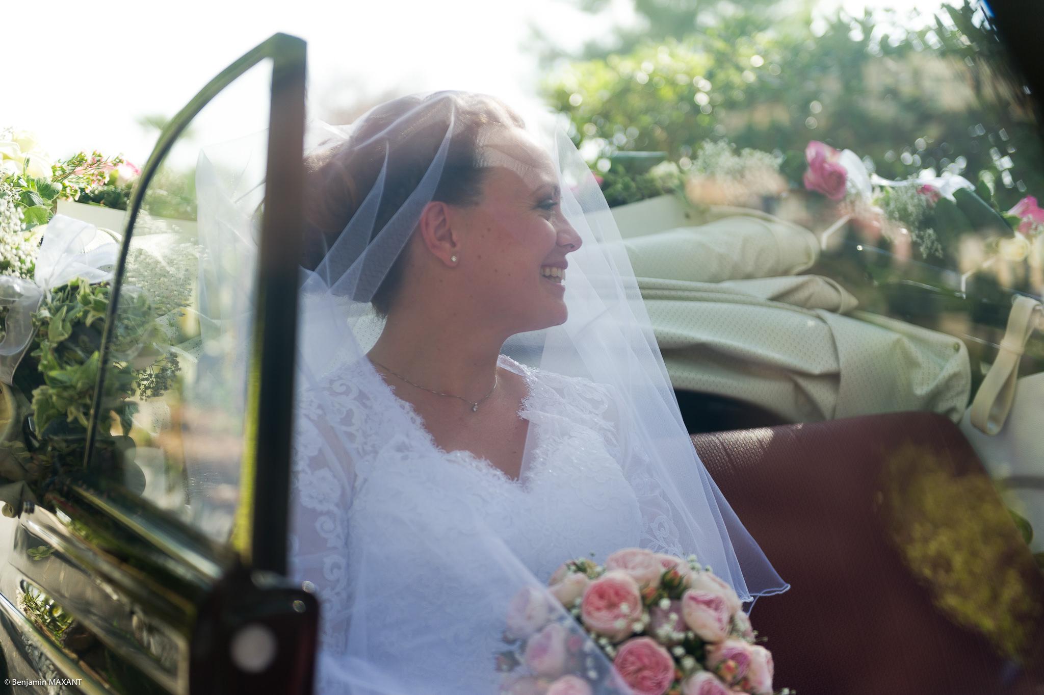 L'arrivée de la mariée à la cérémonie religieuse à Vintimille