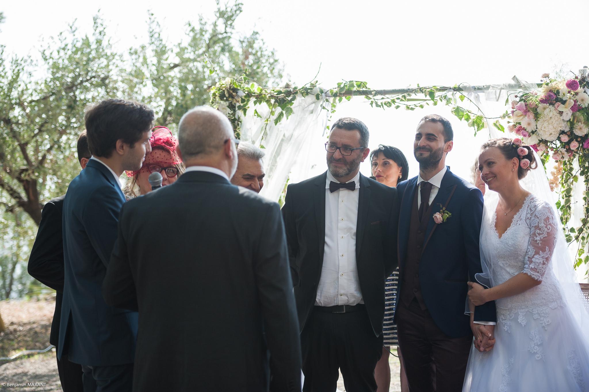 Déroulement de la cérémonie religieuse à Vintimillee à Vintimille