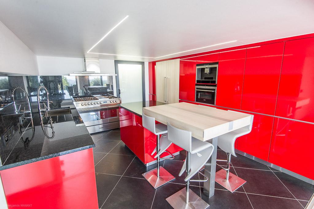 Shooting photos immobilier de villa / maison - cuisine