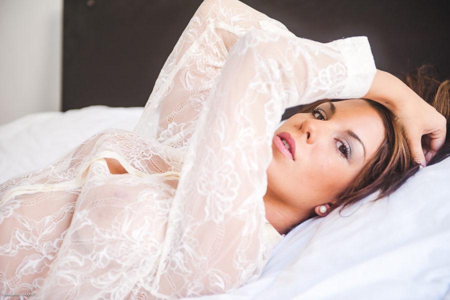 Séance photo boudoir avec Alexie