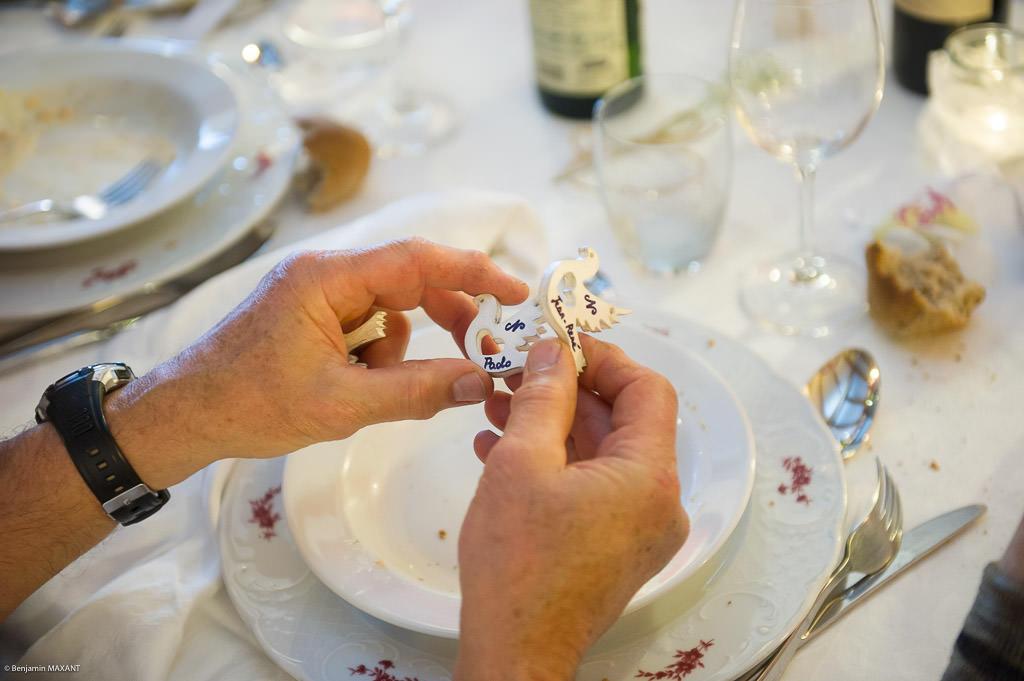 Mariage de Valentine et Nicholas - décoration de la table