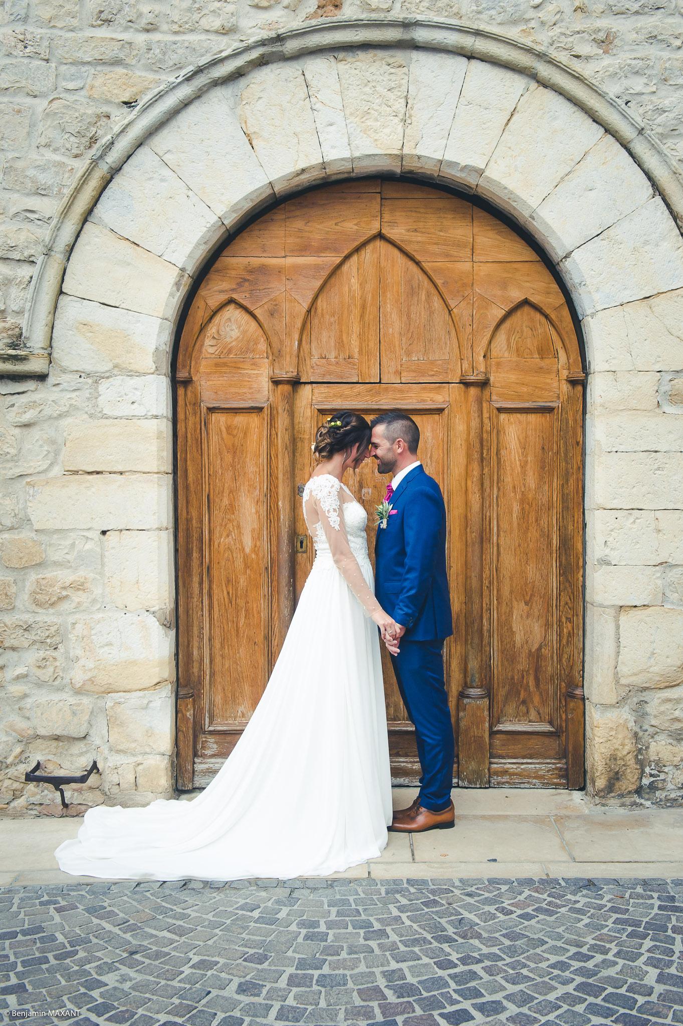 Quelques photos des mariés avant la cérémonie civile