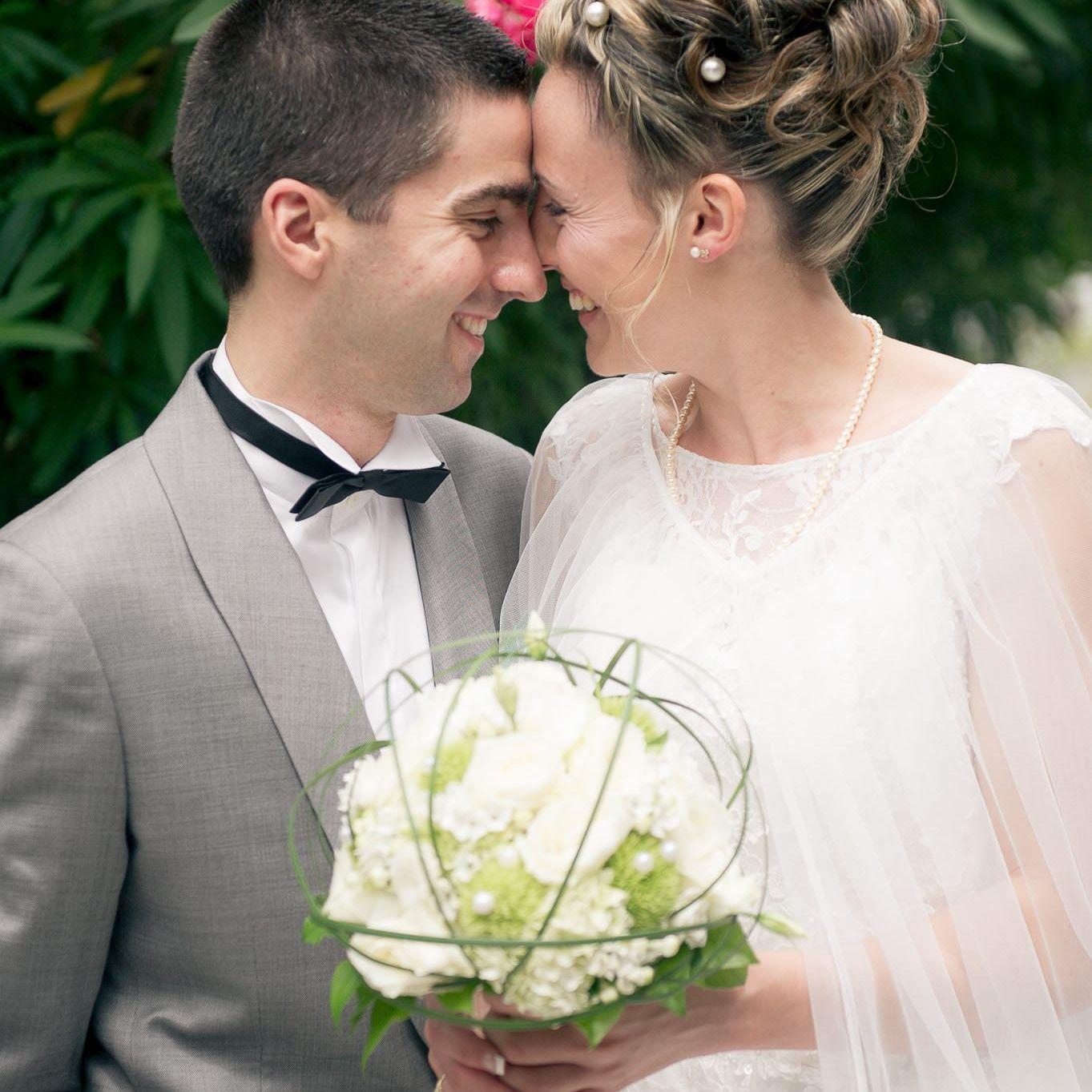 Les mariés et leur amour