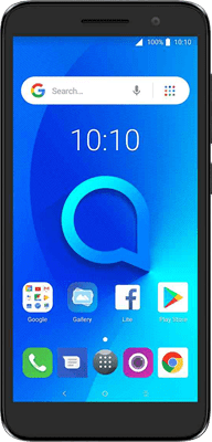 Alcatel 1 (8GB Black) at £29.99 on Pay As You Go Data Pack with 750 mins; UNLIMITED texts; 10000MB of 4G data. Extras: Top-up required: £20.