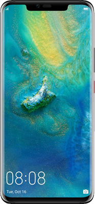 Huawei Mate 20 Pro (128GB Black) on 4G Essential 10GB (24 Month(s) contract) with UNLIMITED mins; UNLIMITED texts; 10000MB of 4G data. £34.00 a month. Extras: EE: Service Pack Benefits.