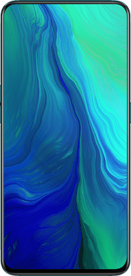 Oppo Reno 5G (256GB Ocean Green) at £10.00 on 5G Smart (24 Month(s) contract) with UNLIMITED mins; UNLIMITED texts; UNLIMITEDMB of 5G data. £69.00 a month. Extras: EE: 5G - 3 Smart Benefits + Swap your benefits when you fancy.