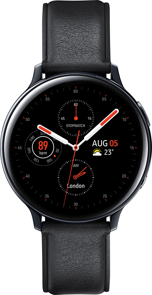 Samsung Galaxy Watch Active2 44mm (Black) at £20.00 on Smartwatch (24 Month(s) contract) with UNLIMITEDMB of 4G data. £20.00 a month.
