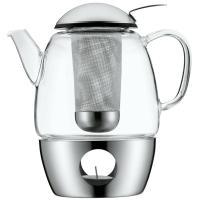 WMF SmarTea Tee-Set Glas Teekanne mit Edelstahl Stvchen