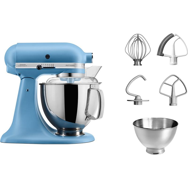 KitchenAid Artisan Kchenmaschine 5KSM175PSEVB blue velvet vintage blue