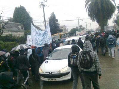 Marcha en Valdivia   Carlos López (RBB)