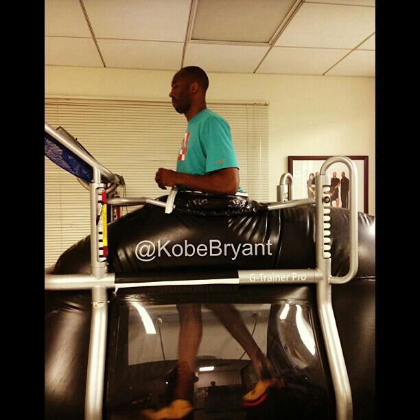 Kobe Bryant en Instagram